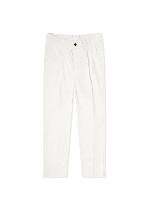 Albam Garment Dyed Ripstop Pleated Trouser