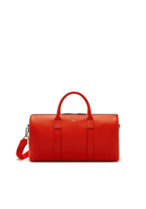 Mulberry Men's Reston Holdall - Hibiscus Red