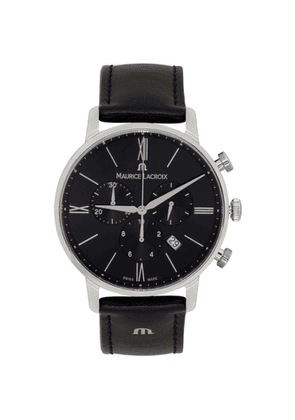 Maurice Lacroix Black Eiros Chorograph 40mm Watch