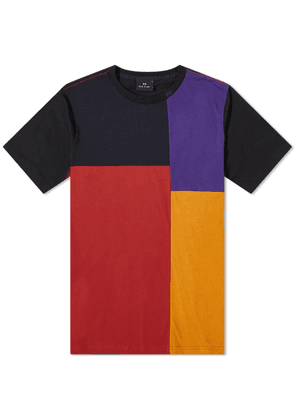 Paul Smith Panelled Patchwork Tee