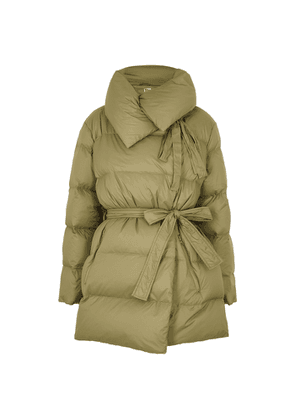 Bacon Puffa 75 Superwalt Olive Quilted Shell Jacket