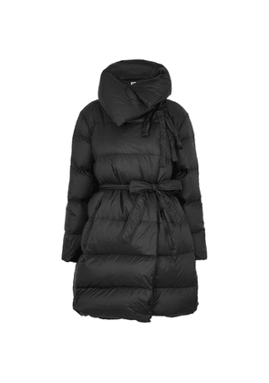 Bacon Puffa 90 Superwalt Black Quilted Shell Jacket