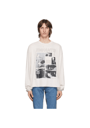 Enfants Riches Deprimes Off-White Tragedy Long Sleeve T-Shirt