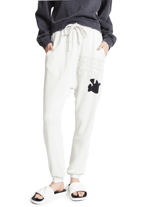 FREECITY Super Fluffy Pocket Sweatpants