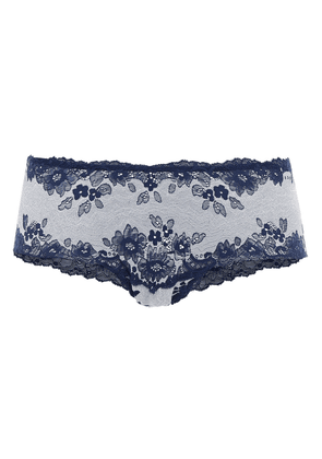 Cosabella Italia Stretch-lace Low-rise Briefs Woman Navy Size S/M