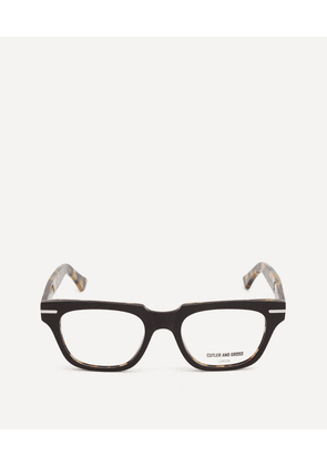 1355-04 Square-Frame Optical Glasses