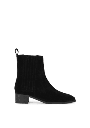 Aeyde Neil 40 Black Suede Chelsea Boots