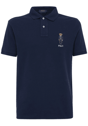 Bear Cotton Piqué Polo