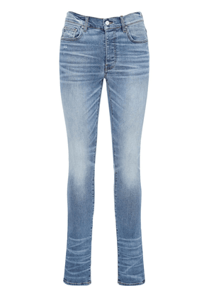 15cm Stack Cotton Denim Jeans