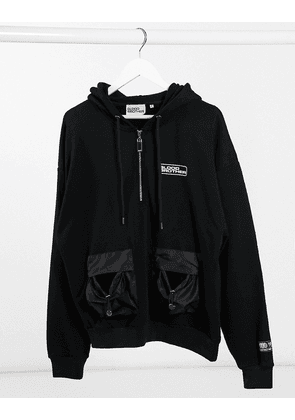 Blood Brother romford hoodie in black