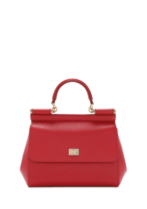 Small Sicily Dauphine Leather Bag