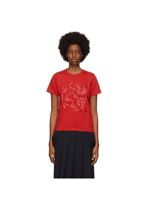 Comme des Garcons Girl Red Bow T-Shirt