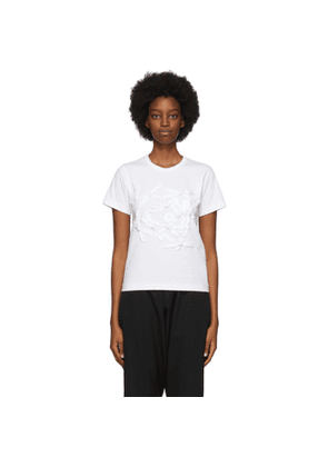 Comme des Garcons Girl White Bow T-Shirt