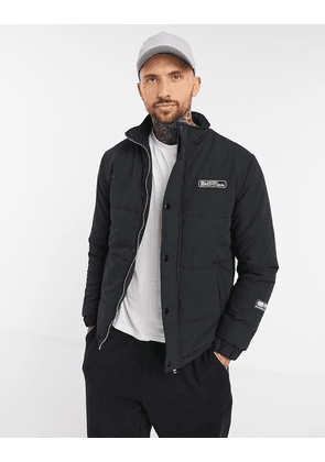 Blood Brother manor puffer jacket in black