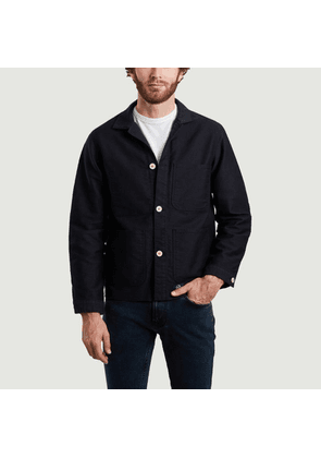 Counter jacket Black Bleu de Paname
