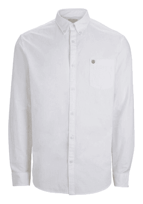 Selected Oxford LS Shirt White