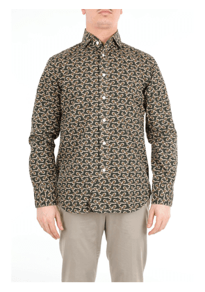 DOPPIAA patterned shirt with long sleeves