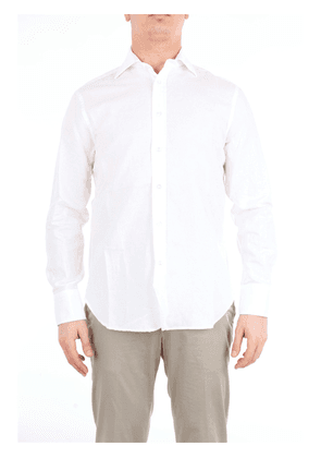 DOPPIAA solid color shirt with long sleeves