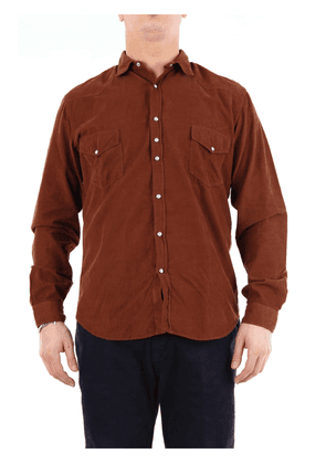 COSTUMEIN Shirts Casual Men Brown