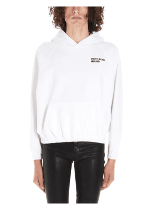 ENFANTS RICHES DÉPRIMÉS MEN'S FW19040001FVINTAGEBLANC WHITE COTTON SWEATSHIRT