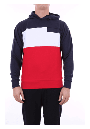 COLMAR Sweatshirts Hoodies Men Blue and red