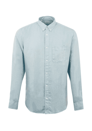 Selected Pastel Oxford Shirt Blue