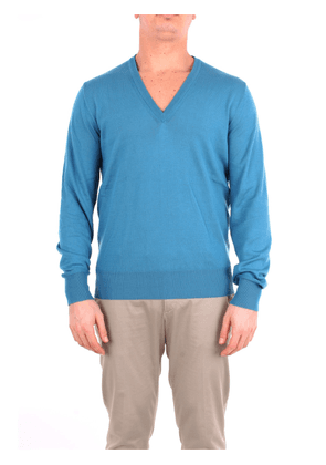 DOPPIAA solid color sweater with v-neck