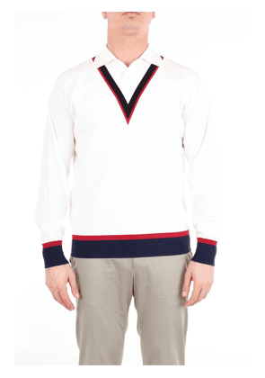 DOPPIAA jersey with v-neck and long sleeves