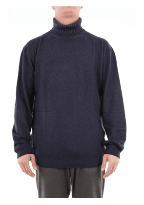 Cruciani solid color turtleneck in wool