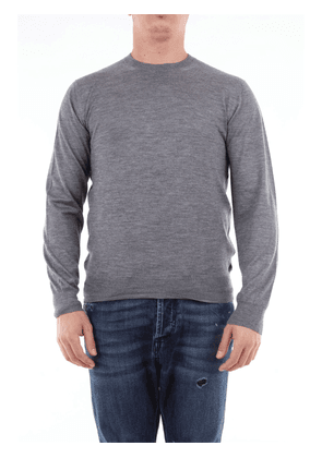 Cruciani plain color worsted cashmere sweater