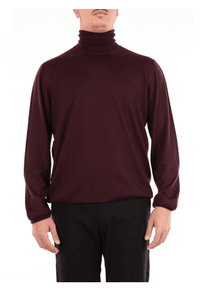 Solid color turtleneck beard in pure cashmere
