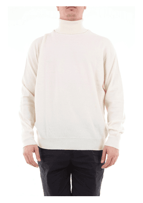 Drumohr solid color turtleneck in wool and cashmere