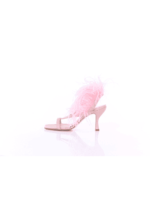 GIA COUTURE Sandals With heel Women Rose