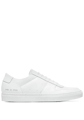 COMMON PROJECTS MEN'S 21550506 WHITE LEATHER SNEAKERS