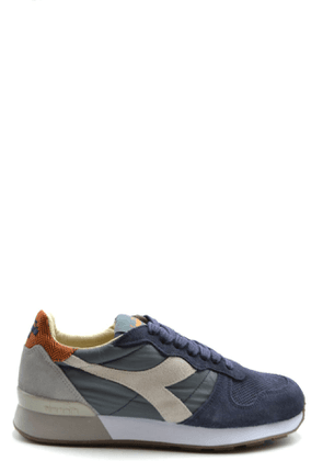 DIADORA MEN'S MCBI38907 BLUE SUEDE SNEAKERS