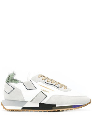GHOUD WOMEN'S RMLWLP14 WHITE LEATHER SNEAKERS
