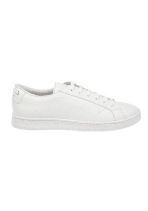 CAR SHOE MEN'S KUE936054F0009 WHITE LEATHER SNEAKERS