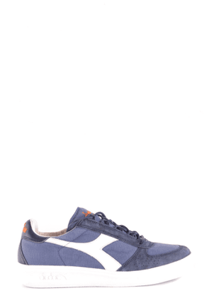 DIADORA MEN'S MCBI30453 BLUE FABRIC SNEAKERS