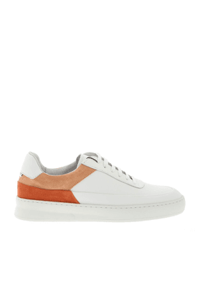 FILLING PIECES MEN'S 42127991008 WHITE LEATHER SNEAKERS