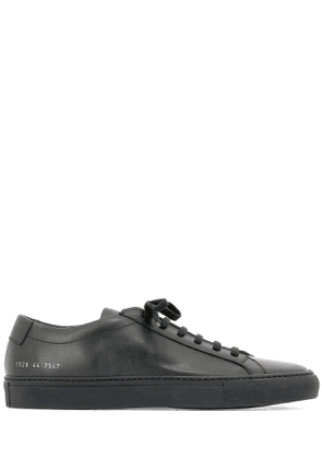 COMMON PROJECTS MEN'S 15287547 BLACK LEATHER SNEAKERS