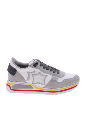 ATLANTIC STARS MEN'S PEGASUSBGJ01 GREY SUEDE SNEAKERS