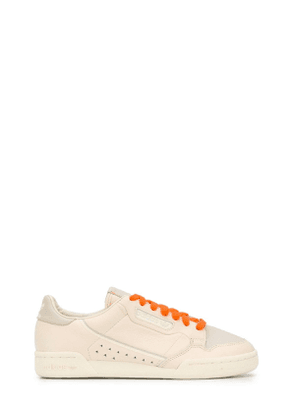 ADIDAS BY PHARRELL WILLIAMS MEN'S FX8002 BEIGE LEATHER SNEAKERS
