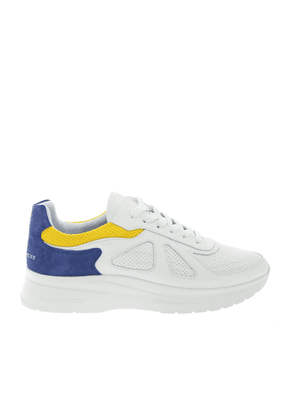 FILLING PIECES MEN'S 38627281925 WHITE LEATHER SNEAKERS