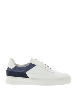 FILLING PIECES MEN'S 42127991925MEB WHITE LEATHER SNEAKERS