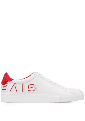 GIVENCHY WOMEN'S BE0003E0DF112 WHITE LEATHER SNEAKERS