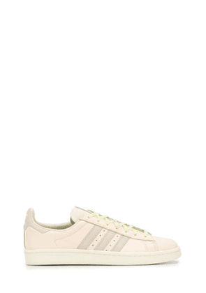 ADIDAS BY PHARRELL WILLIAMS MEN'S FX8025 BEIGE LEATHER SNEAKERS