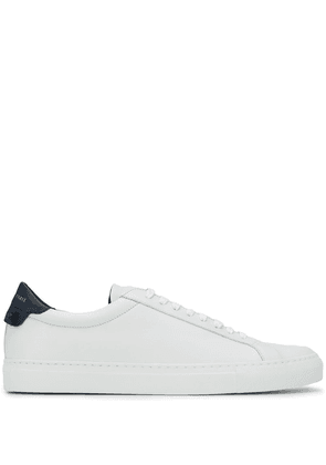 GIVENCHY MEN'S BH0002H0FS131 WHITE LEATHER SNEAKERS