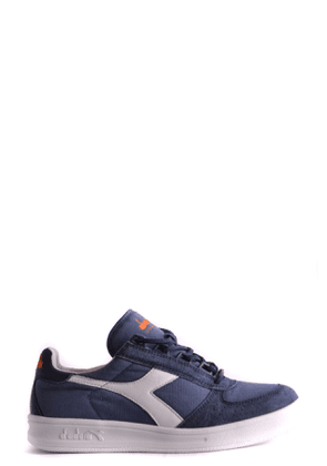DIADORA MEN'S MCBI32723 BLUE SUEDE SNEAKERS
