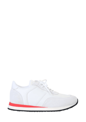 GIUSEPPE ZANOTTI DESIGN MEN'S EU00055008 WHITE LEATHER SNEAKERS