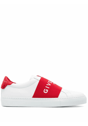 GIVENCHY WOMEN'S BE0005E0EB616 WHITE LEATHER SLIP ON SNEAKERS